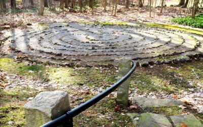First Church in Jaffrey's Labyrinth Is Open for Walking in Circles