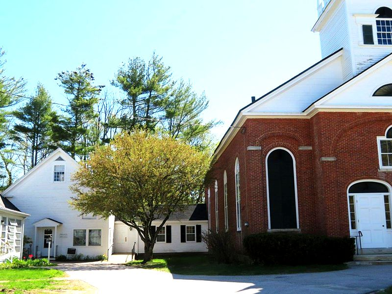 First Church in Jaffrey is resuming outdoor services